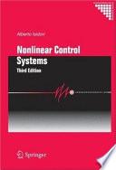Nonlinear Control Systems Book PDF