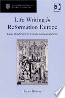 Read Online Life Writing in Reformation Europe For Free