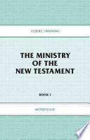 The Ministry Of The New Testament