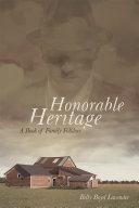 Honorable Heritage Pdf/ePub eBook