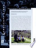 Cultural Landscapes & NPS Facility Management