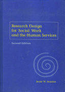 Research Design for Social Work and the Human Services