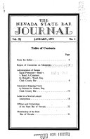 The Nevada State Bar Journal