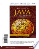 Student Value Edition for Intro to Java Programming, Brief Version