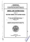 Siberia and Eastern Russia: Western Siberia and eastern Russia