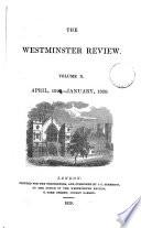 THE WESTMINSTER REVIEW  VOL  X  APRIL 1828   JANUARY 1829  NO  XIX  NO  XX