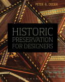Historic Preservation for Designers