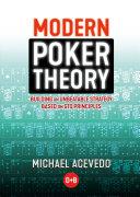 Modern Poker Theory Pdf/ePub eBook