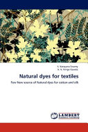 Natural Dyes for Textiles Book
