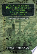 Principles And Practicalities Of Interfaith Relationships In Nigeria