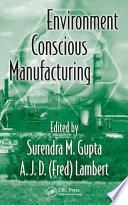 Environment Conscious Manufacturing