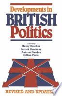 Developments in British Politics
