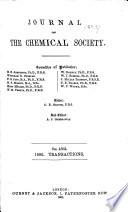 Journal - Chemical Society, London