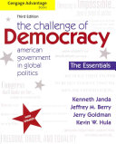 Cengage Advantage Books  The Challenge of Democracy  Essentials  American Government in Global Politics Book PDF