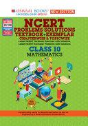Oswaal NCERT Problems   Solutions  Textbook   Exemplar  Class 10 Mathematics Book  For 2022 Exam