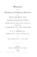 Pdf Memorials of the Church and Parish of Sonning ...