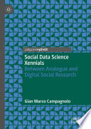 Social Data Science Xennials