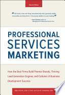 Cover of Professional Services Marketing