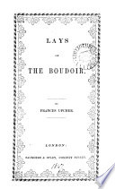 Lays of the Boudoir