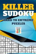 Killer Sudoku   Hard to Extreme Puzzles