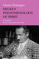 Hegel s Phenomenology of Spirit