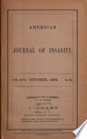 American Journal of Insanity