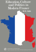 Pdf Education, Culture and Politics in Modern France Telecharger