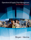 Operations and Supply Chain Management for the 21st Century Pdf/ePub eBook
