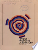 A Prospectus on Wood Research