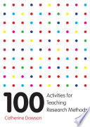 100 Activities For Teaching Research Methods Book PDF