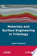 Materials And Surface Engineering In Tribology Book PDF