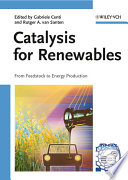 Catalysis for Renewables Book