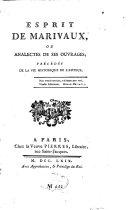 Esprit de Marivaux