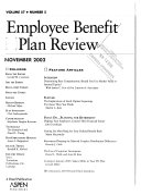 Employee Benefit Plan Review Book