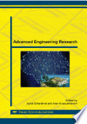 Advanced Engineering Research