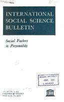 International Social Science Bulletin