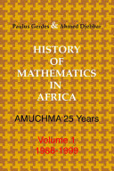 History of Mathematics in Africa  1986 1999