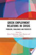 Greek Employment Relations in Crisis