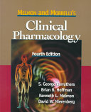 Melmon and Morrelli s Clinical Pharmacology Book