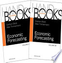 Handbook of Economic Forecasting Book