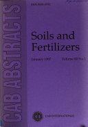 Soils And Fertilizers Book PDF