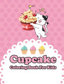 Cupcake Coloring Book For Kids