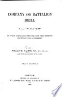 Company and battalion drill illustrated Book