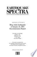 Earthquake Spectra