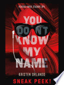 YOU DON'T KNOW MY NAME Chapter Sampler