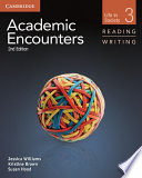 Academic Encounters Level 3 Student S Book Reading And Writing