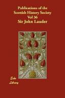 Publications of the Scottish History Society