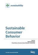 Sustainable Consumer Behavior