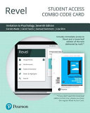 Revel for Invitation to Psychology -- Combo Access Card