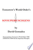 Tomorrow S World Order S Sovsuperiuscogens